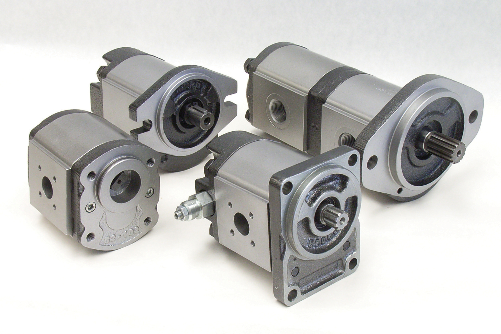 Gear pumps from stock